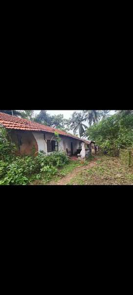 Small Broken Goan house with total area 666sqmts for sale at Parra
