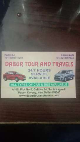 DABUR TOUR AND TRAVELS DELHI TO ALL INDIA