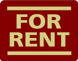Portion available for rent ground floor four rooms only commercial use