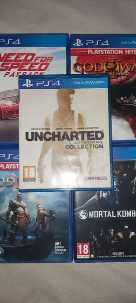 Uncharded the Nathan drake collection Ps4