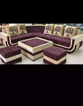 L sep sofa with sentr