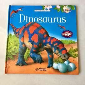 Buku Dinosaurus PopUp 3D Bahasa Indonesia Anak - Anak