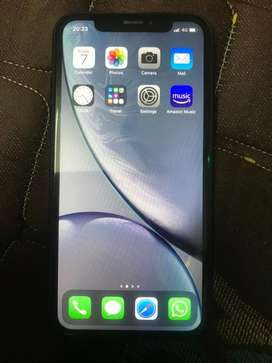 I phone xr 64 gb black colour with apple watch series 3 and airpods 2