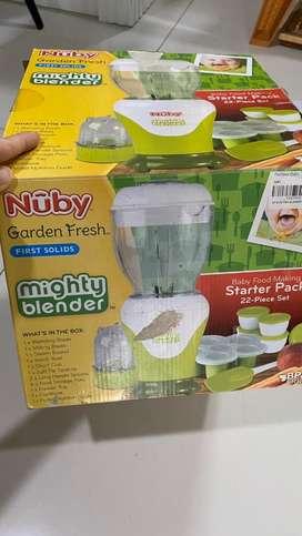 Blender baby food merek Nuby