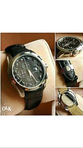 branded leather strap watches CASH ON DELIVERY price negotiable hurry