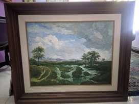 Lukisan Pemandangan by Hamdani