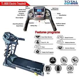 Alat Fitness Treadmill Elekrik TL-8600 motor 2hp