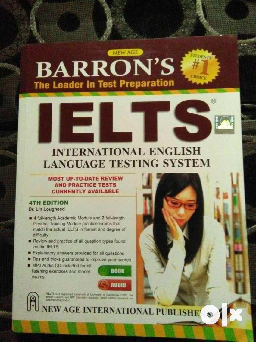 Barron's IELTS practice book 0