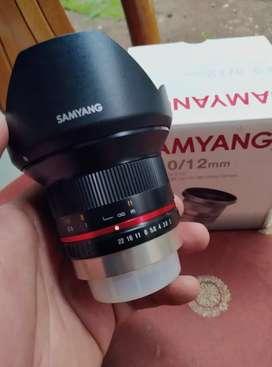 Samyang 12mm for Fujifilm, mulus!