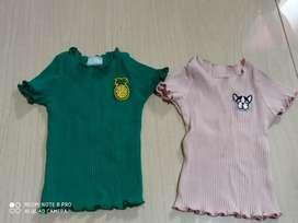 Kaos import baby 0-12 bulan