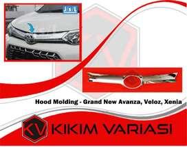 kikim variasi paris _ hood molding depan : grand new AVANZA :