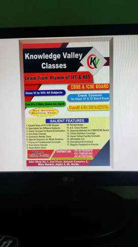 Knowledge valley  classes (Learn from Alumni of IIT and NITs