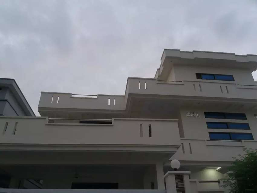 24 Marla brand new ground portion for rent 0