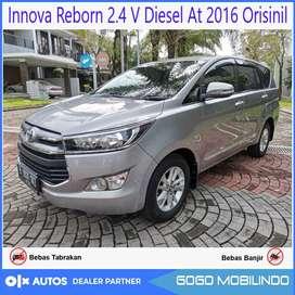 Innova Reborn 2.4 V Diesel At 2016 Orisinil Low KM