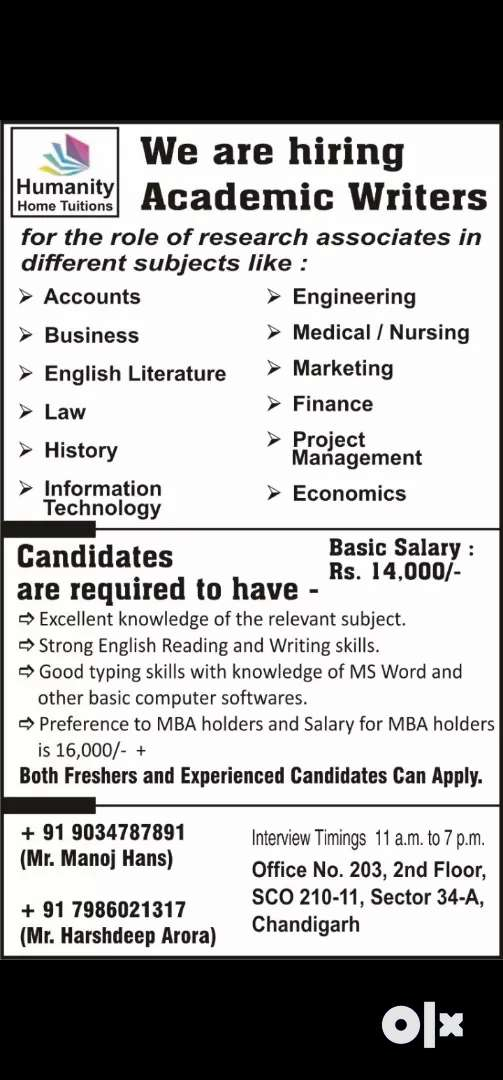 FREELANCER  ACADEMIC WRITERS REQUIRED  FOR ASSIGNMENT WRITING PURPOSES 0