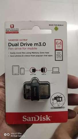 64 GB New OtG Pen Drive