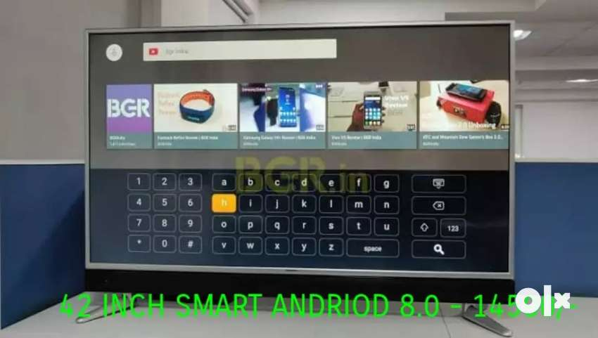 Great deal on 42 Smart Andriod 8.0 4k at only RS 14999
