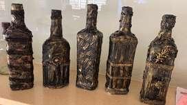 Antique bottles Art