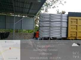 Paket usaha produksi dan distribusi baja ringan