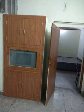 2 room +loby flat (2 side open) park and gym facing