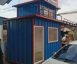 CONTAINER DAGANG/SEMI CONTAINER CUSTOM/BOOTH SEMI CONTAINER