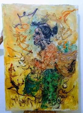 Lukisan Affandi Peninggalan