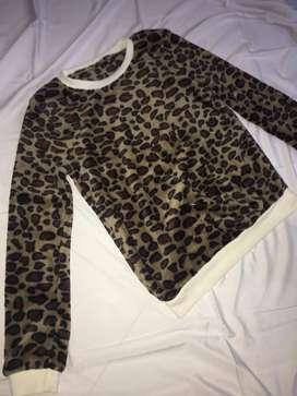sweater wanita motif cleoparta fit to L