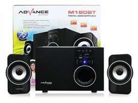 PROMO - Speaker Advance Aktif Portable M180BT Bluetooth Subwoofer BASS