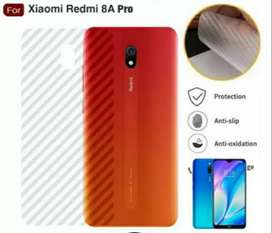 Garskin HP Karbon Backdoor Anti Jamur Redmi 8A Pro