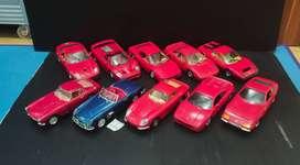 Classic Ferrari Skala 24 Bburago Burago 250 GTB Testarossa F50 550
