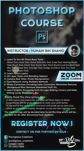 Photoshop Course on Zoom