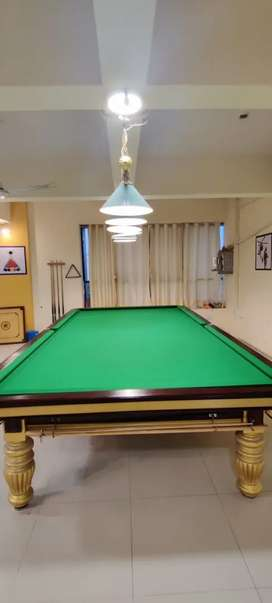 PROFESSIONAL SNOOKER 2 TABLES SET