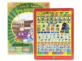 Mainan Anak Playpad Muslim LED 4 Bahasa Murah