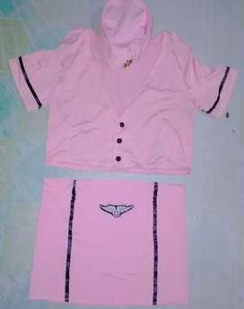 Kostum suster pink