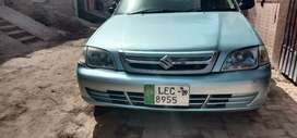Szuki Cultus VXRi 2009 model Lahore Register