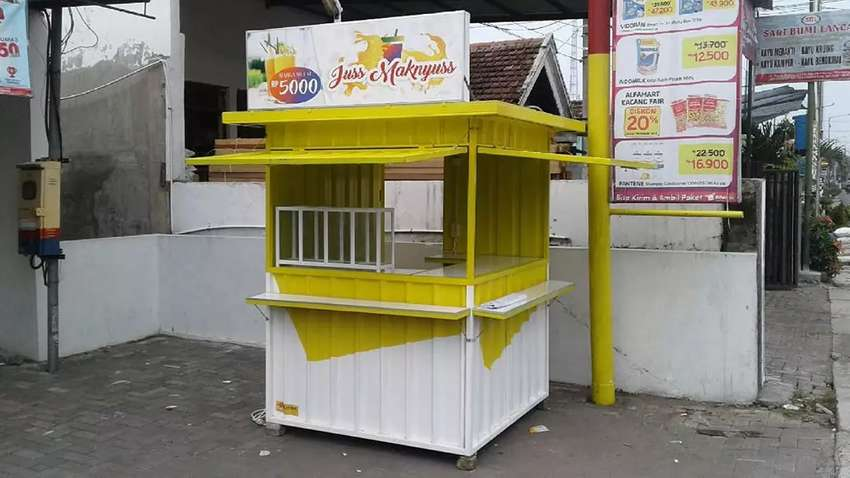 Container jualan, booth minuman, booth jus, booth Bazaar, booth usaha 0