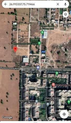 311 Gaj plot in front of rangoli garden