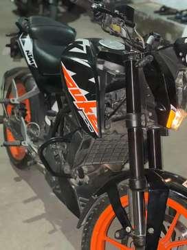KTM DUKE 200 2018 ENDING