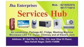Air conditioner repairing washing machine fridge