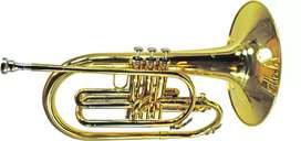 Trombone Flugel Marching Band ostrava Gold Original import