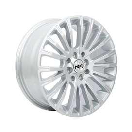 velg termurah HSR WEB JD801 Ring 16x7 H8x100-1143 ET45 Silver