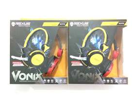N E W  Rexus Gaming Headset Vonix RX 995 untuk PC/Laptop/Smartphone