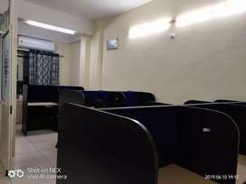 30 seater with boss chain with 2 AC fully furnished office on lease