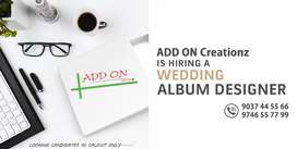 Wedding Album Designers Wanted