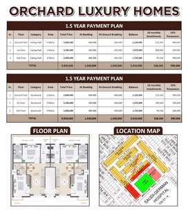 2 bed Luxury Apartment on easy installments in bahria orchard Lahore