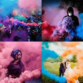 Colourfull Smoke  Available in Different Colours