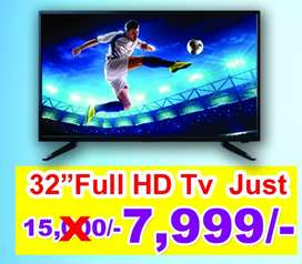 "AVE BRAND 32"" FULL HD TV JUST RS.7999"
