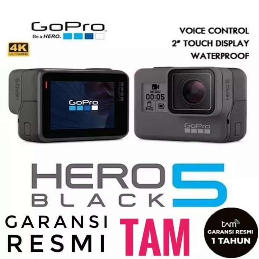 Go Pro Hero 5 Black Edition Kredit 15mnt acc DP cm 199 rb / cicilan 0% 0