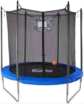 TRAMPOLINE FOR KIDS WITH SAFETY NET