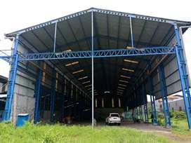 Dijual Workshop di Ngoro, Mojokerto. Cocok buat Pabrik/Gudang.